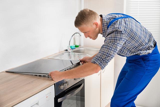 Quy trình lắp bếp
