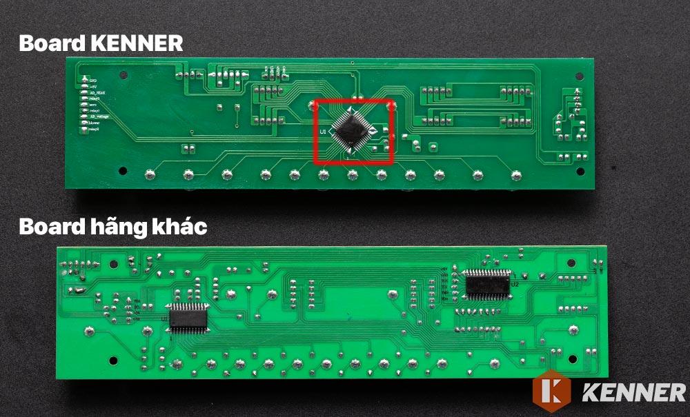 Board điều khiển KENNER sử dụng Bộ vi xử lý SOC tiên tiến