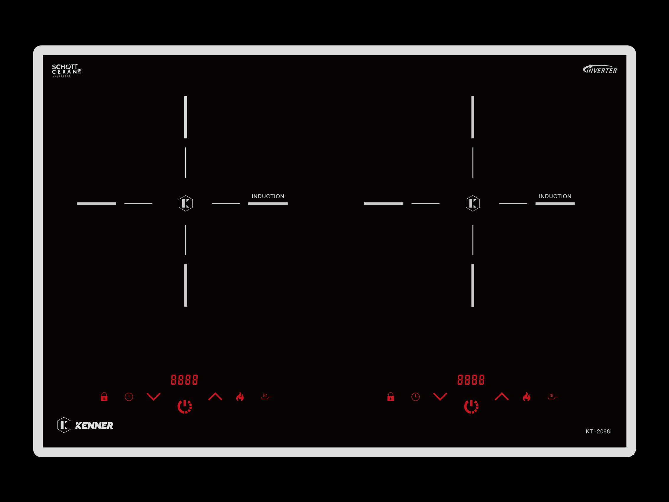 Bếp 2 từ KTI-2088I